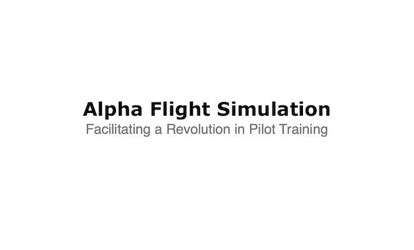 alpha flight instruction logo